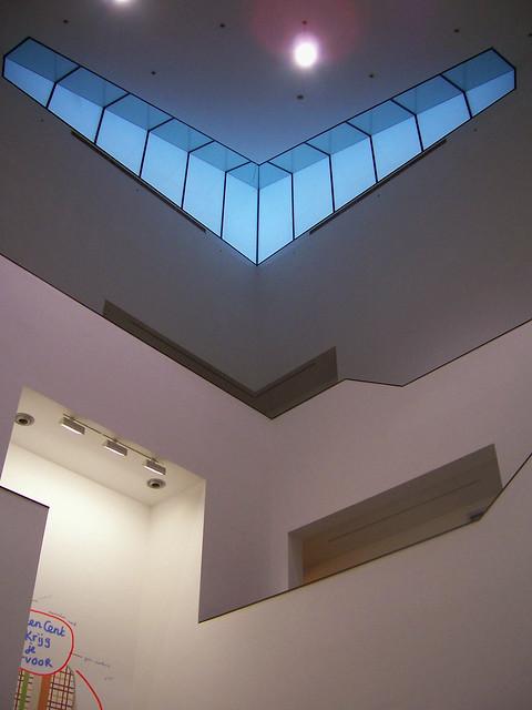 Van Abbe museum: Tower interior