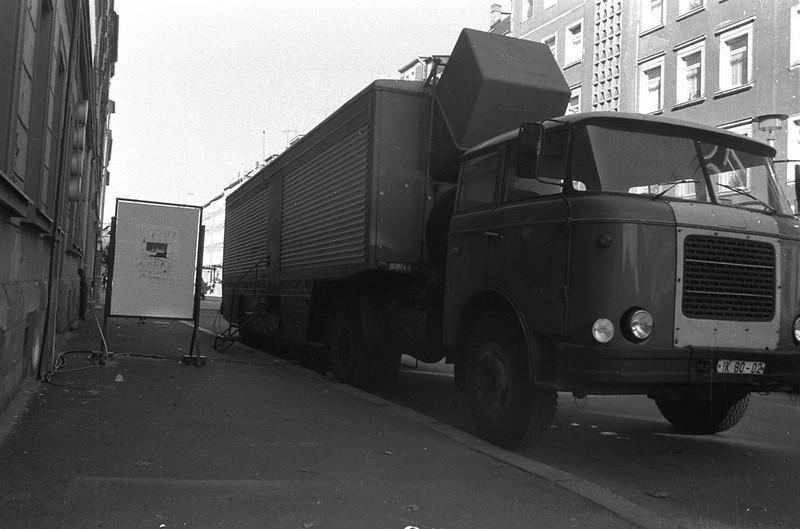 Rundfunk Ü-Wagen, AG Geige 1987, Karl-Marx-Stadt