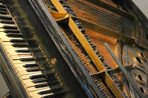 Fats Domino's Piano, Post Katrina | by delgaudm