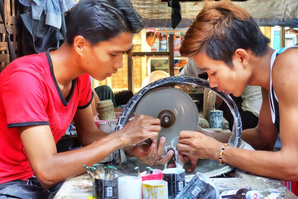 Myanmar - Mandalay - Jade Market