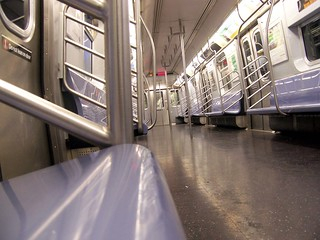 all alone on the L line* | by holycalamity