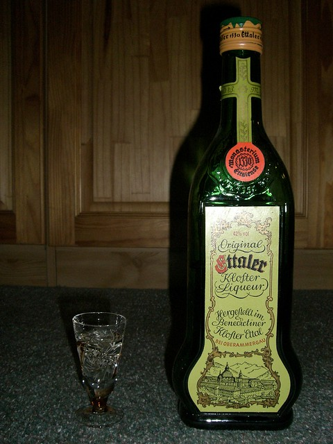 One Shot of Ettaler Kloster Liqueur, 42 %