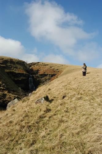 Climbing Up Beside The Stream | by Stuart Herbert