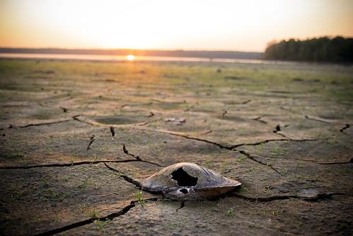 sunset durham hole mud earth north northcarolina clam drought carolina cracked
