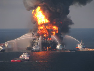 Deepwater Horizon Fire | by EPI2oh
