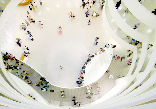 The Guggenheim during the Museum Mile Festival | by @superamit