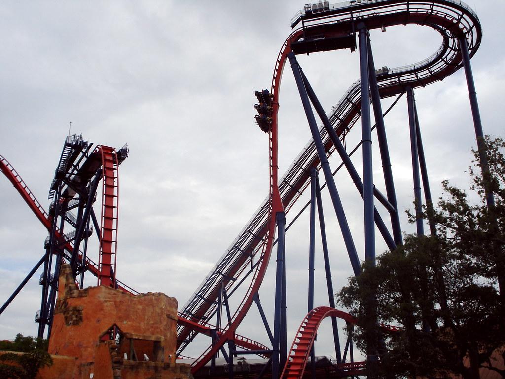 Busch Gardens Sheikra Nuestra Montaña Rusa Favorita Imag Flickr