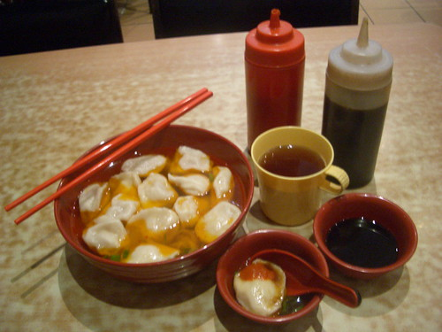 Chilli Oil Dumplings at Shanghai Dumpling | by mutemonkey