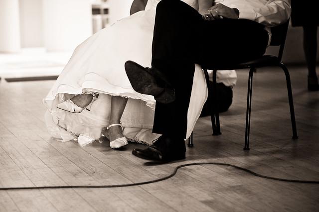 Wedding // Feet