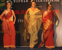 Sun, 07/22/2007 - 09:12 - Models walks down the ramp during a fashion show 'Colours of Life' in Guwahati on Sunday night.                                                                         Photo by- Manab Jyoti.