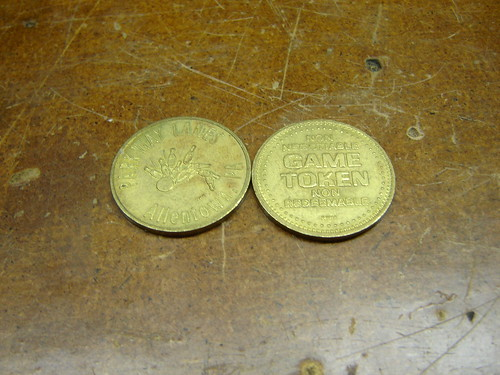 Parkway Lanes tokens