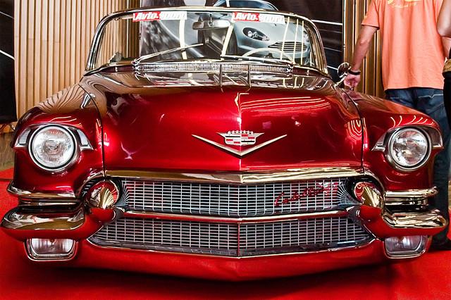 A beautifully restored cadillac eldorado cabriolet (1955 ?)