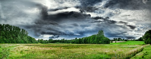 HDR: Approaching Rain Front by Dirk Paessler