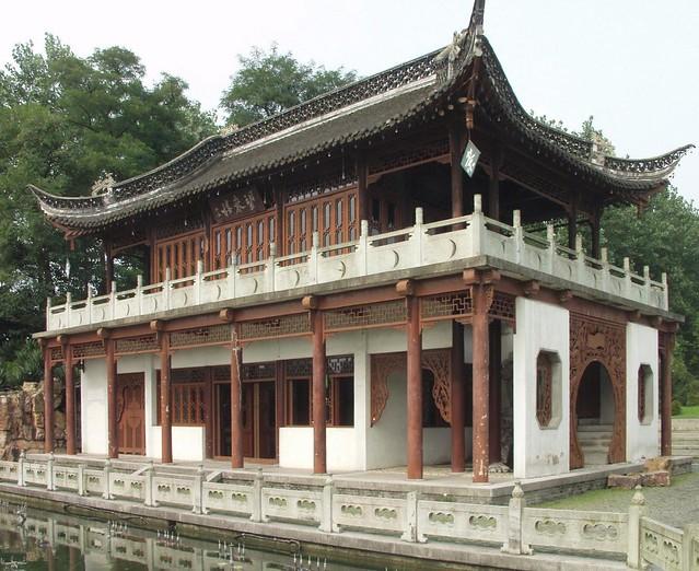 Yangzhou - Teahouse