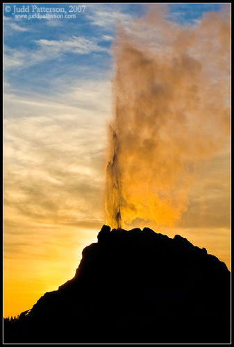Geyser Sunset | by Judd Patterson