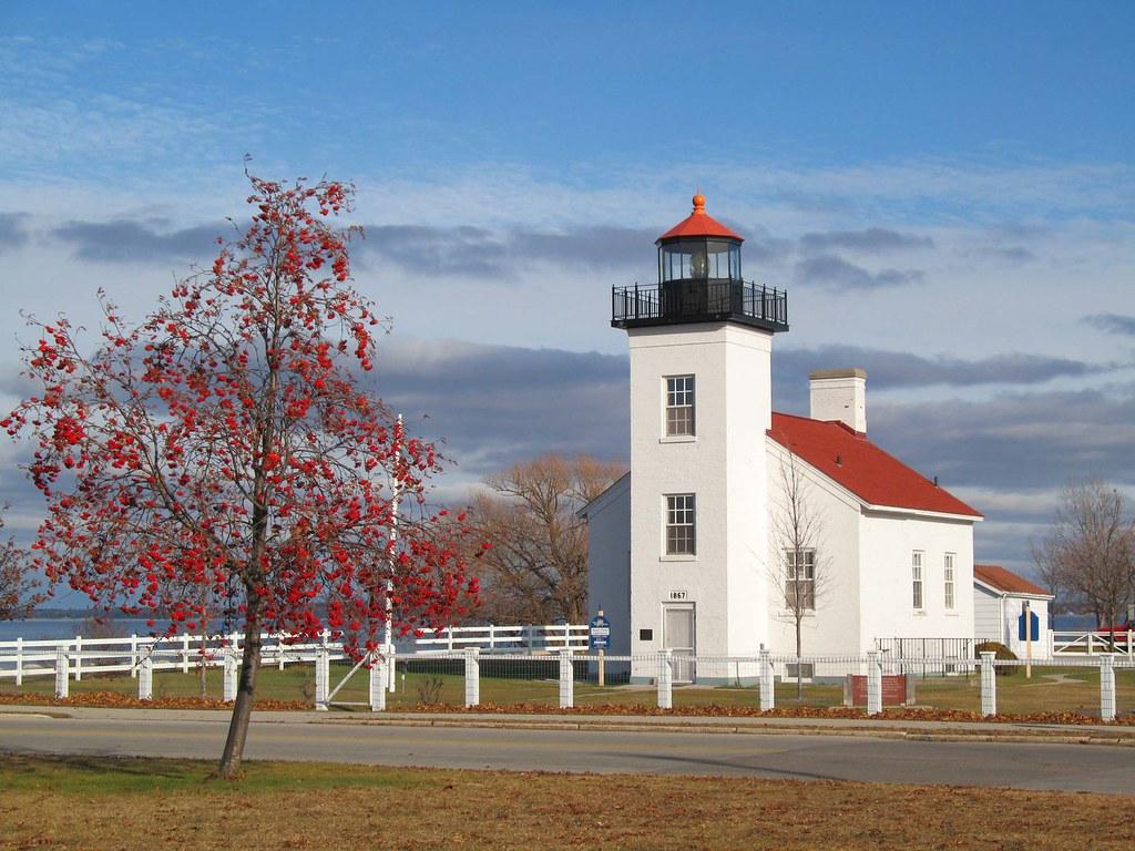 Escanaba, Michigan Lighthouse   Lighthouse in Ludington Park
