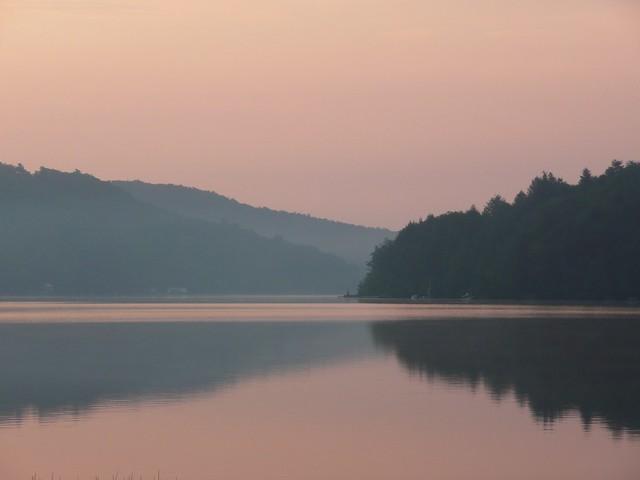 Still Lake & Sunrise