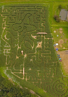 Aerial Photography of Maize maze Crowhurst Park Sussex 2007 | by aerialphotographyforyou