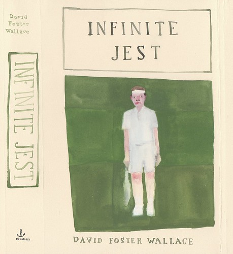 "Jennie Ottinger ""Infinite Jest (book cover)"""