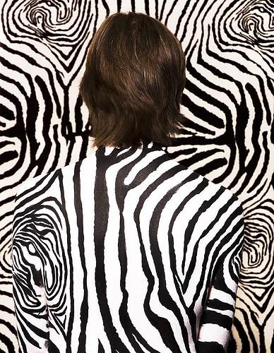 Zebra Body Art Emma Cammack Photo Rich Johnson Flickr