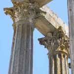 Roman Corinthian Temple, Evora, Portugal