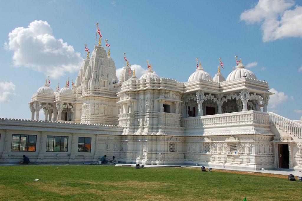 Baps Shri Swaminarayan Mandir Canada S First Marble Hindu