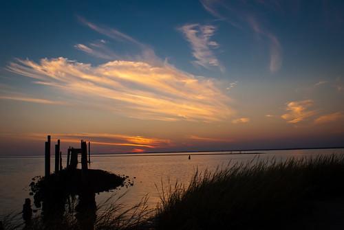 sunset gulfofmexico nature water clouds florida sk stmarks stmarksnationalwildliferefuge apalacheebay thesussman sonyalphadslra200