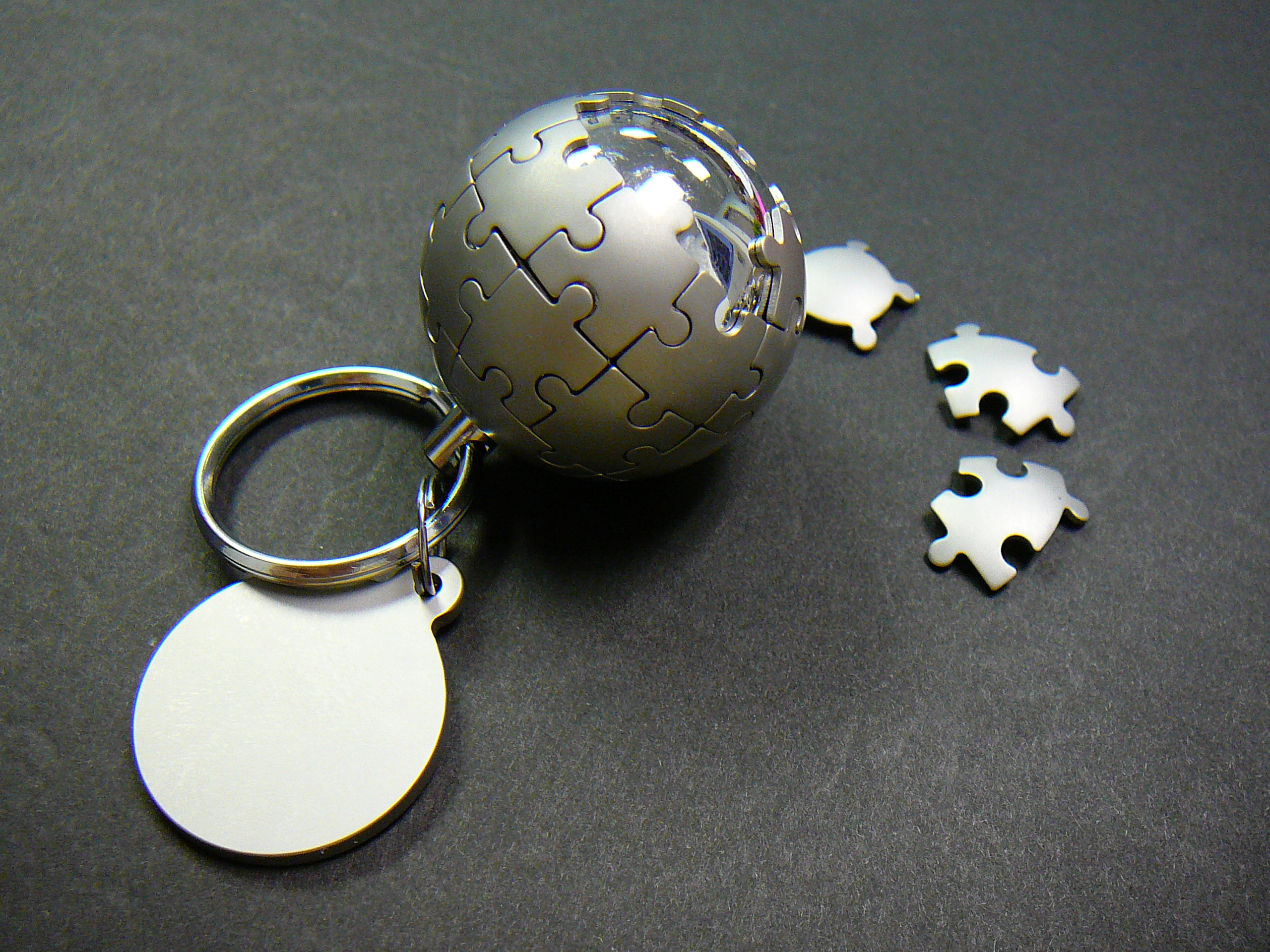 All sizes | Wikipedia globe in a keychain! | Flickr - Photo Sharing!