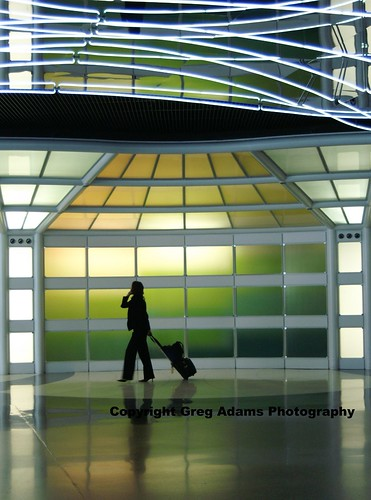 travel summer chicago silhouette lights airport ohare walkway ord 2007 selectedasthebest spselection 3wayicon