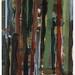 croxcard 16 ignace de vos (1998) CROXHAPOX<br /> acryl en p.t. op doek 110,5x80cm