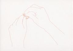 croxcard 40 Lieve D'hondt (1963)<br /> Ki, 2005 tekening
