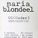 crox 30 maria blondeel<br /> G(ONDER)<br /> instalraam: locatie onderstraat 51<br /> oktober 1995</p> <p>croxhapox Ghent Gent Belgium<br />