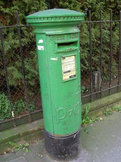 A Traditional Green Post Box | by Iain Tait