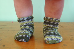 socks for addie   by SouleMama