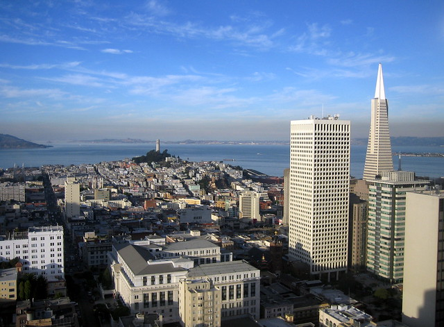 SF from the bar at the Grand Hyatt 5