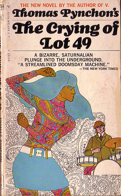 """Book Covers - Thomas Pynchon's """"The Crying of Lot 49"""""""