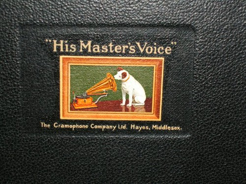 Old Hmv Logo On A Turntable In The Ilfracombe Museum Neasan O