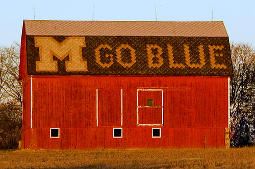 michigan annarbor barn m goblue unverisityofmichigan red sunrise sun morning tag1 tag2 tag3 taggedout kathy~ cp hp sign words fc instagram ff