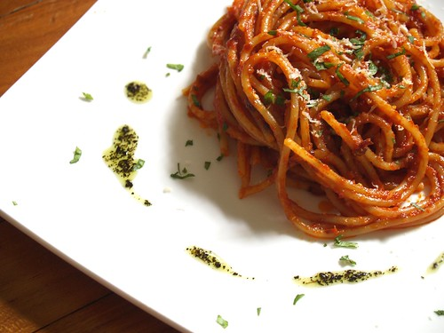 Spaghetti All' Arrabbiata | by Sebastian Mary