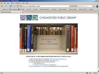 404 Page: Book Shelf
