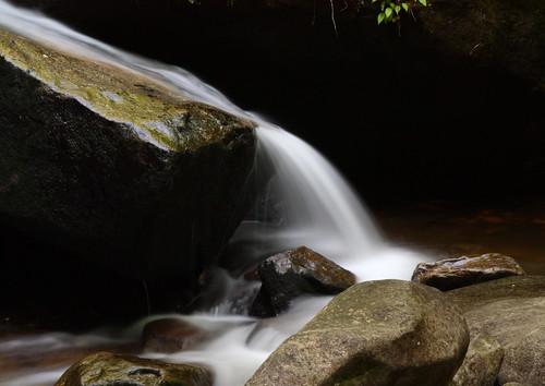 longexposure white wet water waterfall nc rocks stream northcarolina cascade slippery naturephotography southmountainsstatepark burkecounty jacobsforkriver davidhopkinsphotography ncpedia