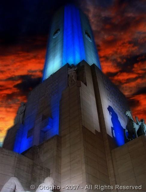 Monumento Nacional a la Bandera - National Flag Memorial - Rosario - Argentina