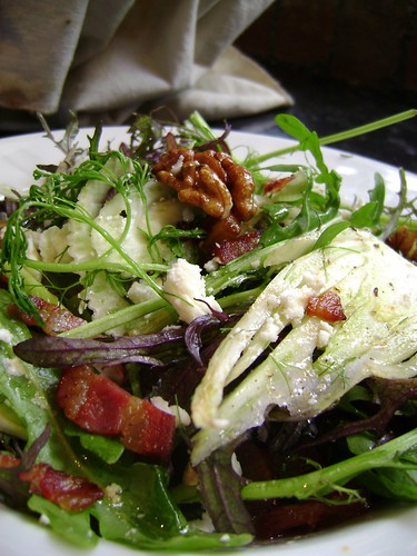 Fennel ,Pancetta,  Walnut and Goats Cheese Salad | by Girl Interrupted Eating