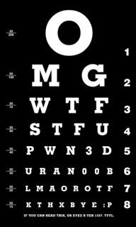 l33t eye chart | by maumeedb8