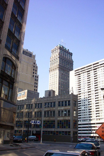 Book Building - Detroit Downtown ~ 2004