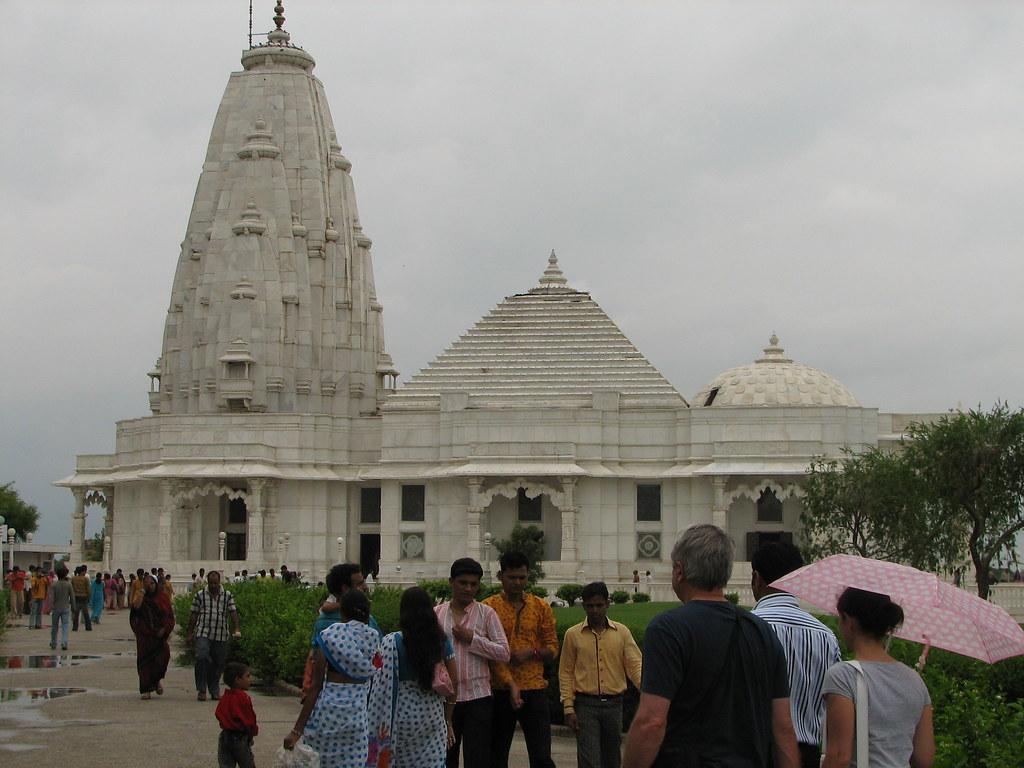 India Jaipur 023 The Peculiar Birla Mandir Temple