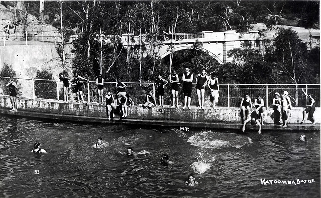 Katoomba Baths c1920