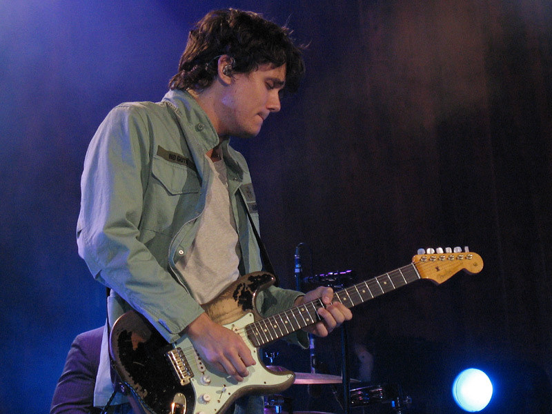 John Mayer Blossom center