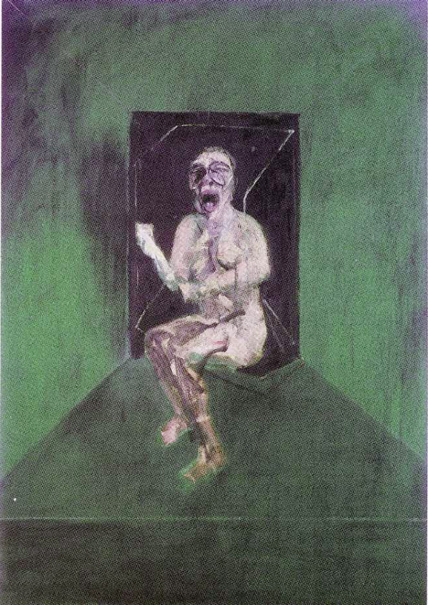 STUDY FOR THE NURSE IN THE FILM BATTLESHIP POTEMKIN - FRANCIS BACON - 1957