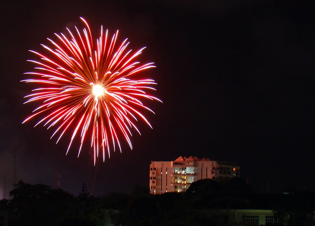 Fireworks, Mombasa, Kenya